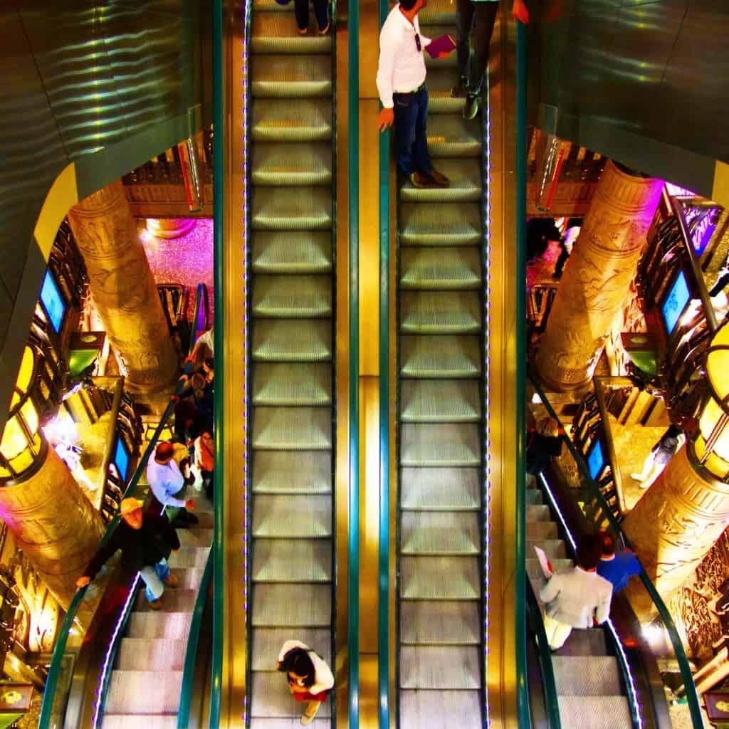 egyptian escalator harrods