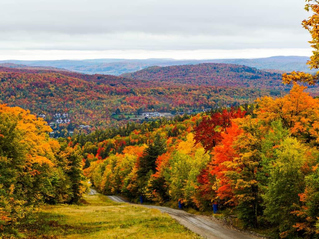 Mont-Tremblant during Autumn