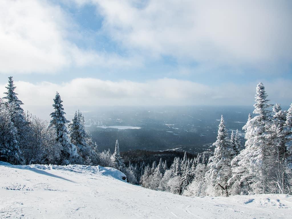 Mont tremblant ski slope