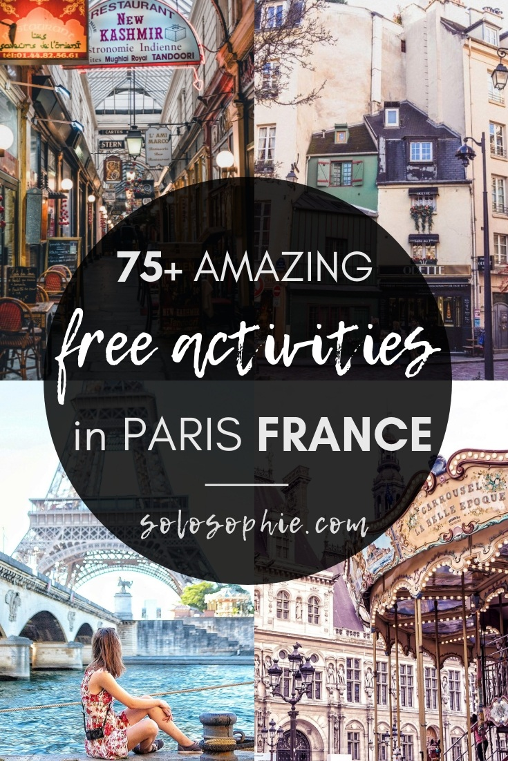 75 of the best free things to do in Paris. Here's your ultimate guide to saving money when visiting Paris, including where to go, what to stay, and the best foodie things to do