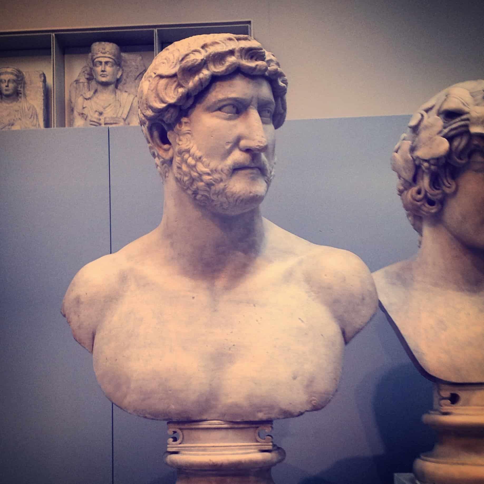 bust of hadrian british museum
