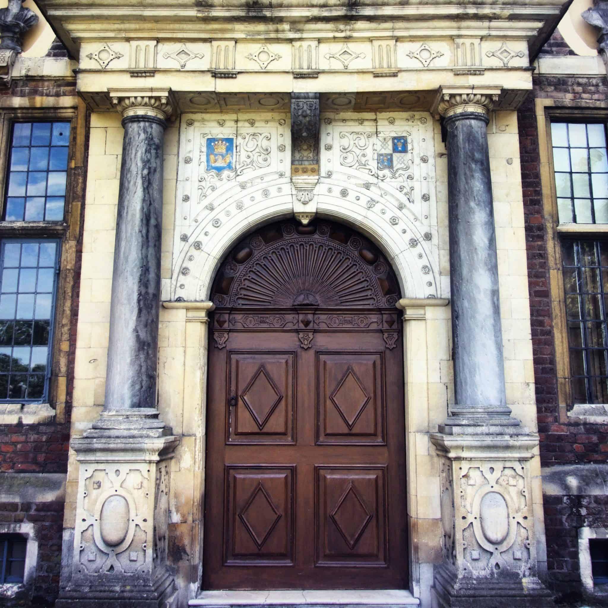 the main door at ham house