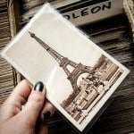vintage postcard marches aux puces st ouen