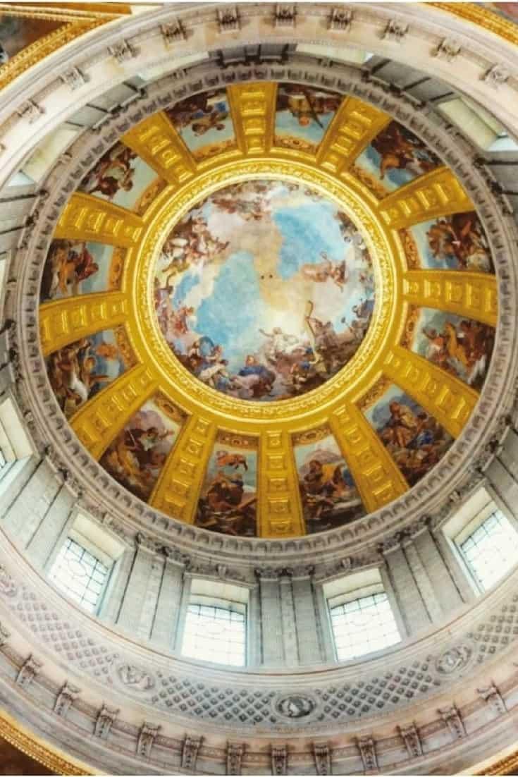 Ceiling of Napoleon's Tomb, Les Invalides, Paris, France