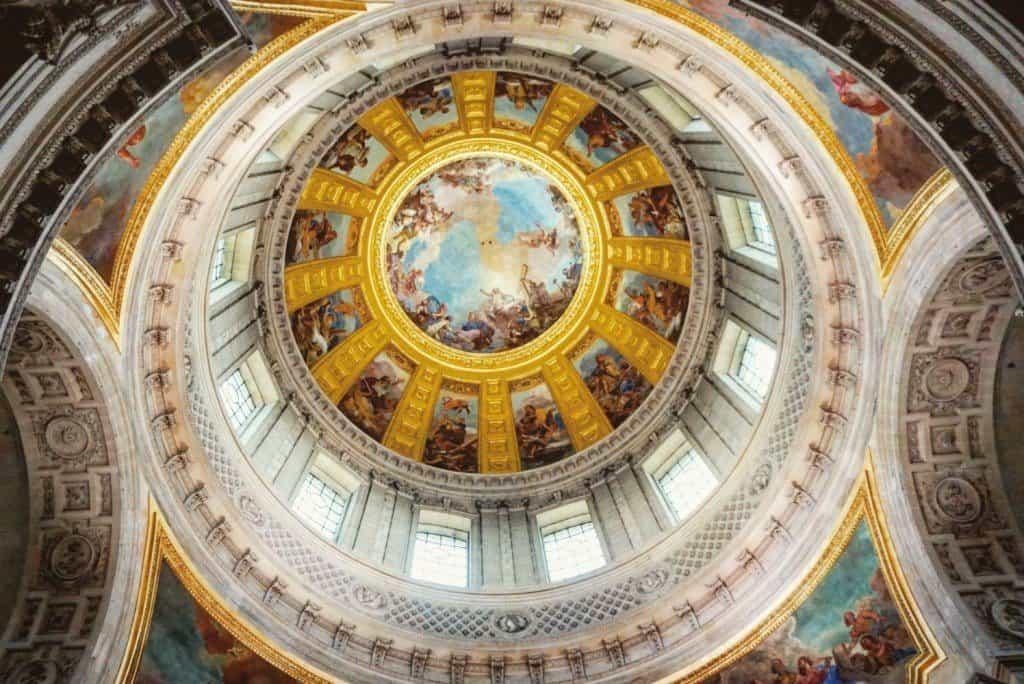 les invalides tomb of napoleon golden dome
