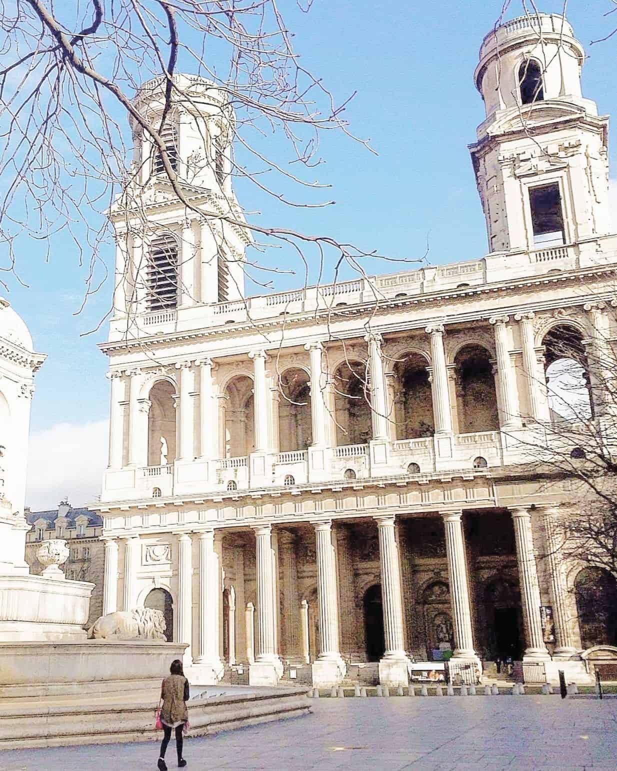 saint Sulpice Church: Da Vinci Filming Locations in Paris, France