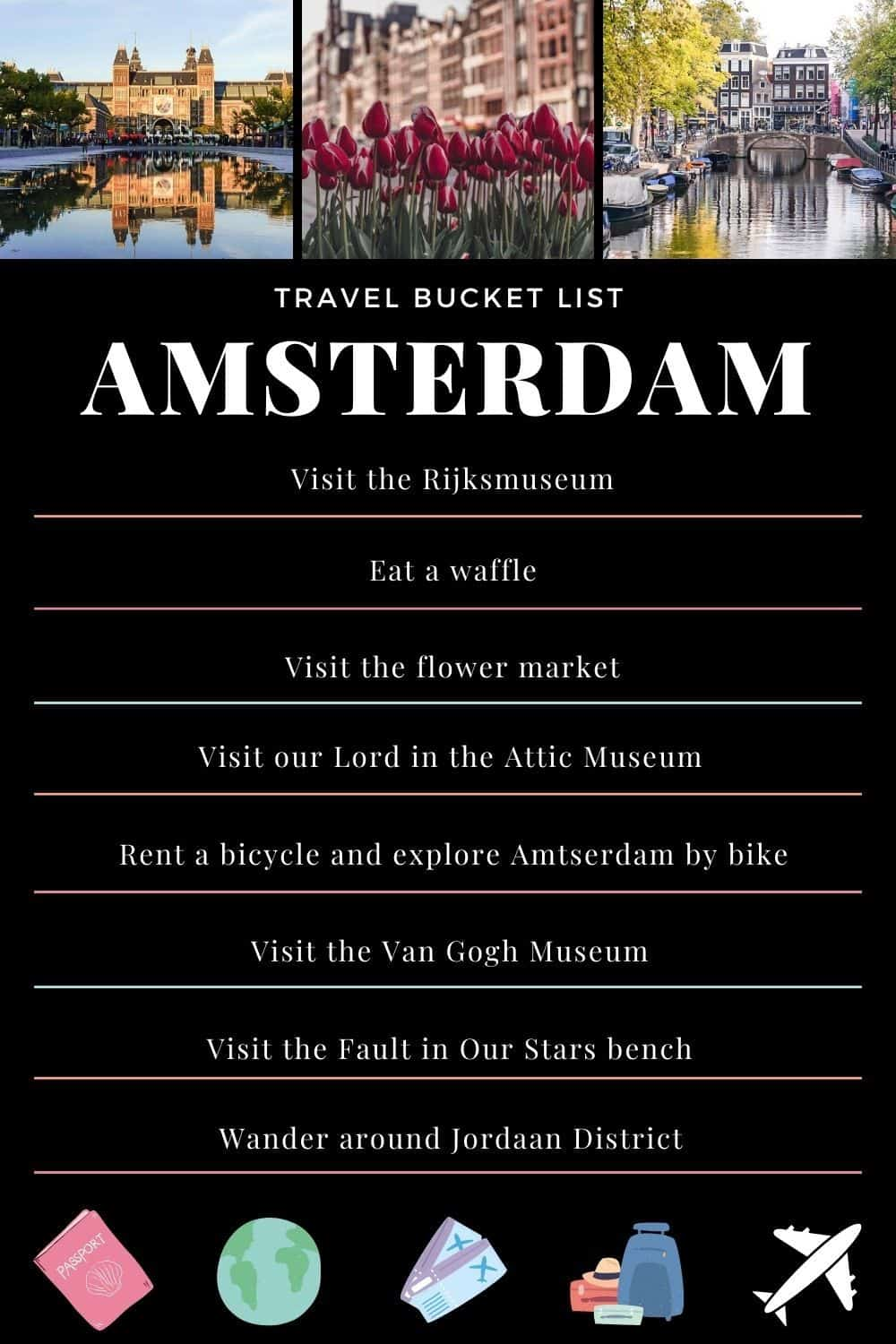 Best of Amsterdam the Netherlands/ Ultimate Amsterdam Bucketlist: Top Things to do in the Dutch Capital