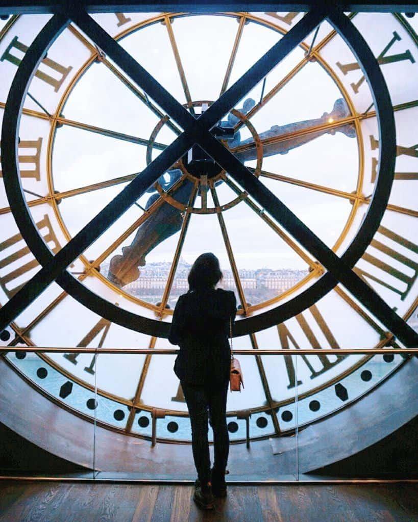 famous clock musée d'orsay