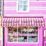 cranch's sweet shop, Salcombe, Devon, England