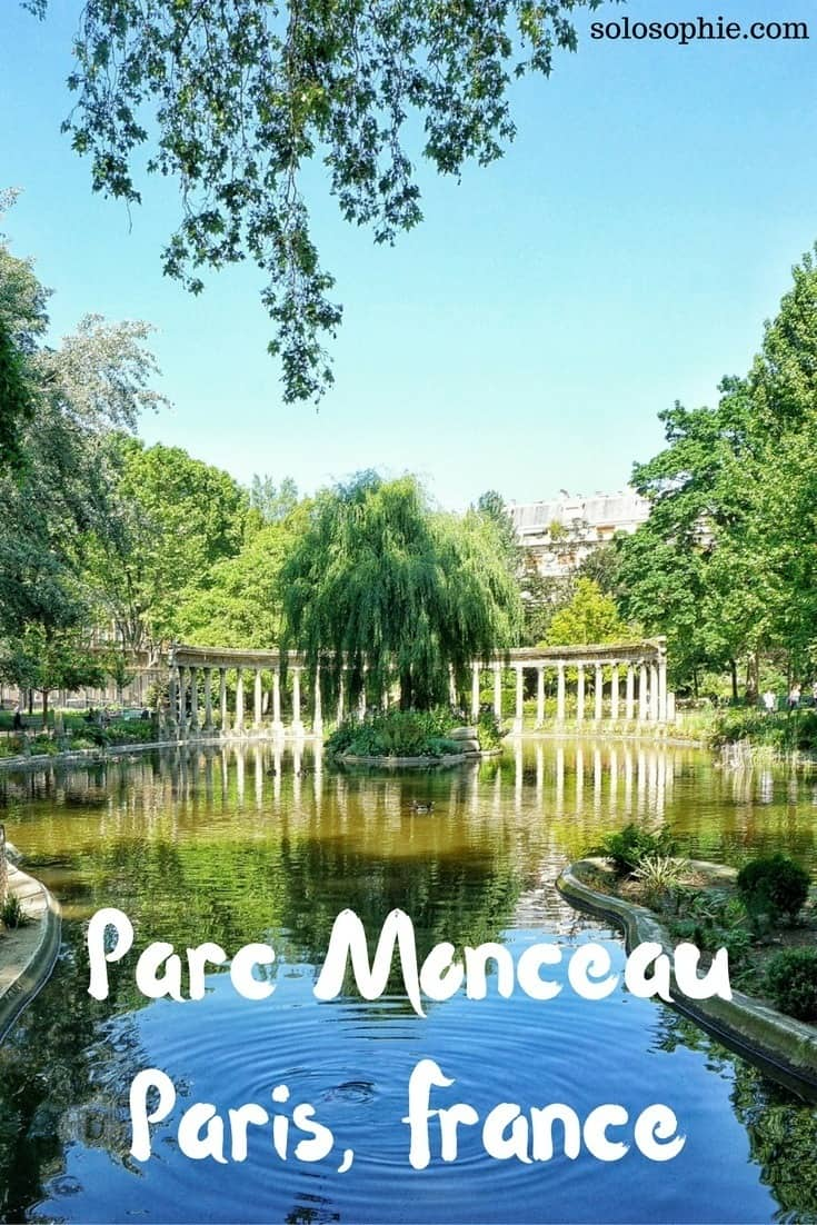 Here's a quick guide to the best of Parc Monceau, a pretty park in the heart of the 8th arrondissement, Paris, France
