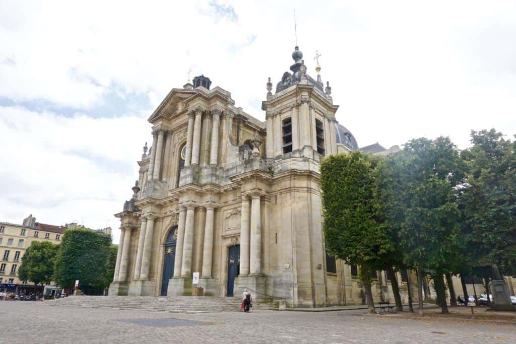 versailles town cathedral