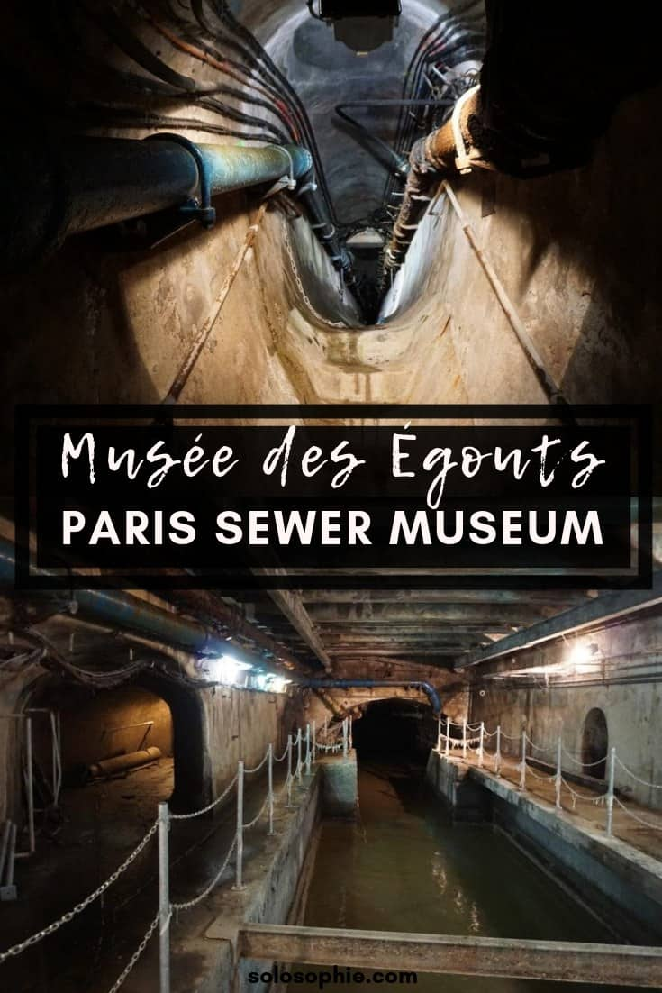 Paris Sewer Museum (Musée des Égouts) in France. Here's what it's like to visit the most unique museum in Paris, that of the history of the sewers from the city of Lutetia to the present day.