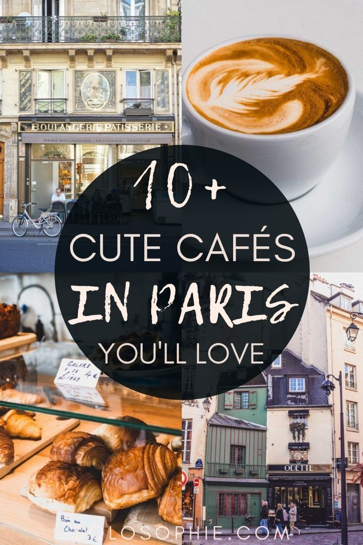 Cafes in Paris: Your ultimate guide to finding the most beautiful coffee shops in Paris and cute Parisian cafes you won't want to miss on your next visit to France