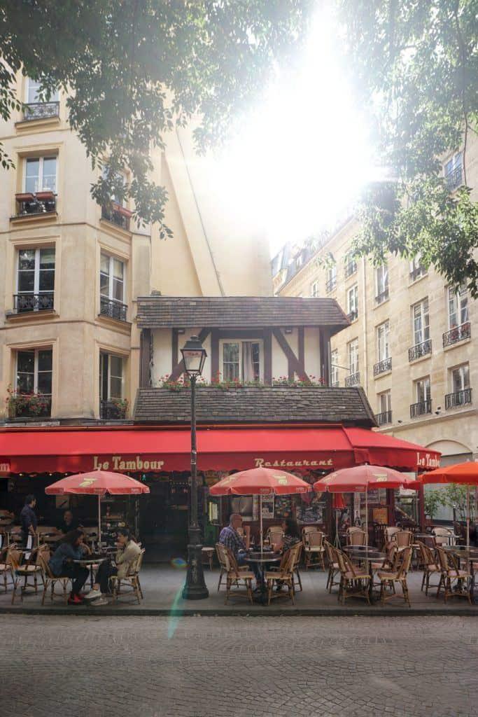 Le Tambour Cafe in Paris, France