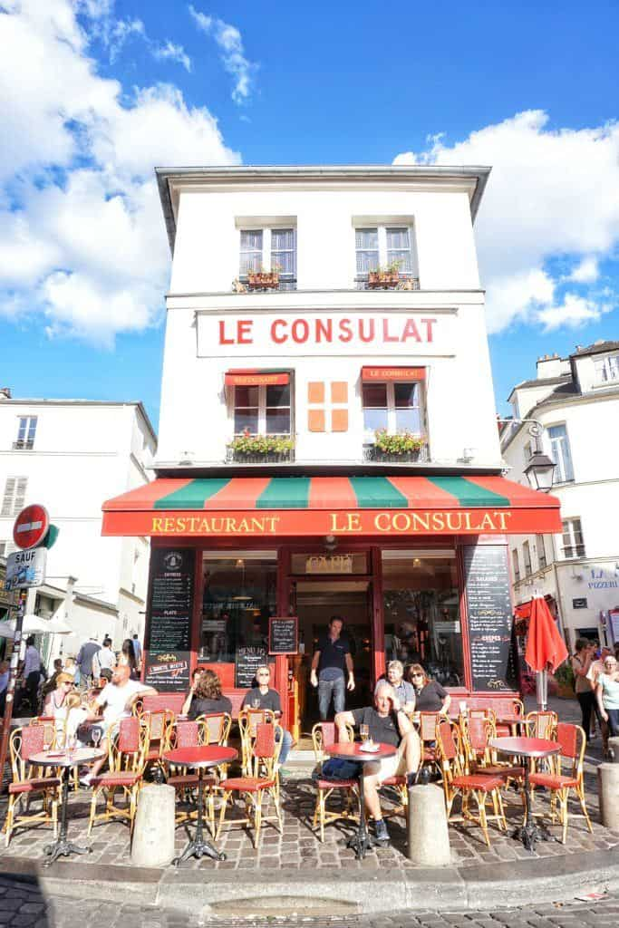Le Consulat Café, Paris, France: your ultimate guide to the best of cute Parisian cafés in the French capital city