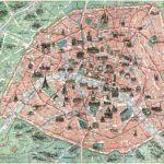 vintage illustrated paris maps