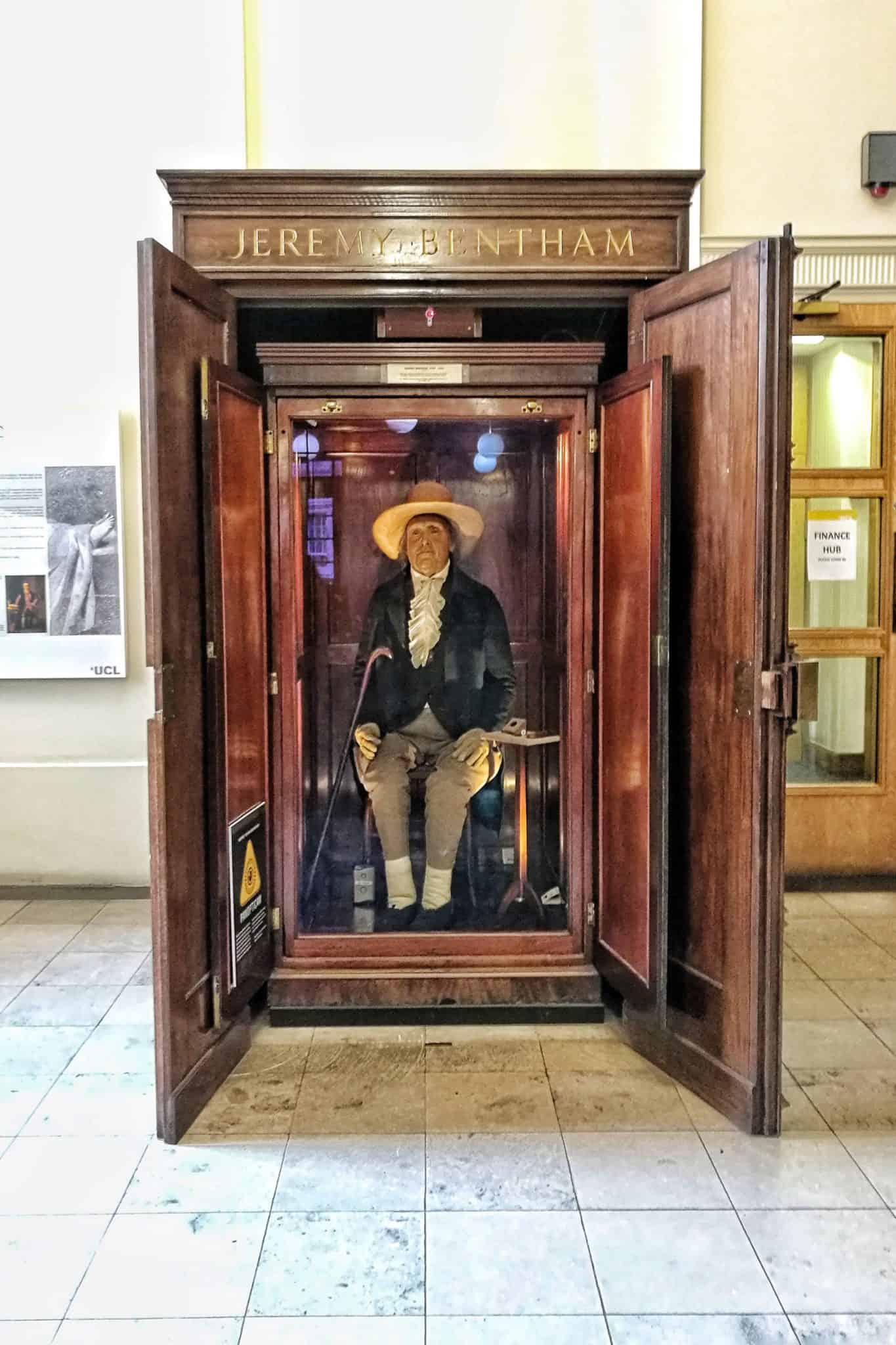 jeremy bentham's body ucl london