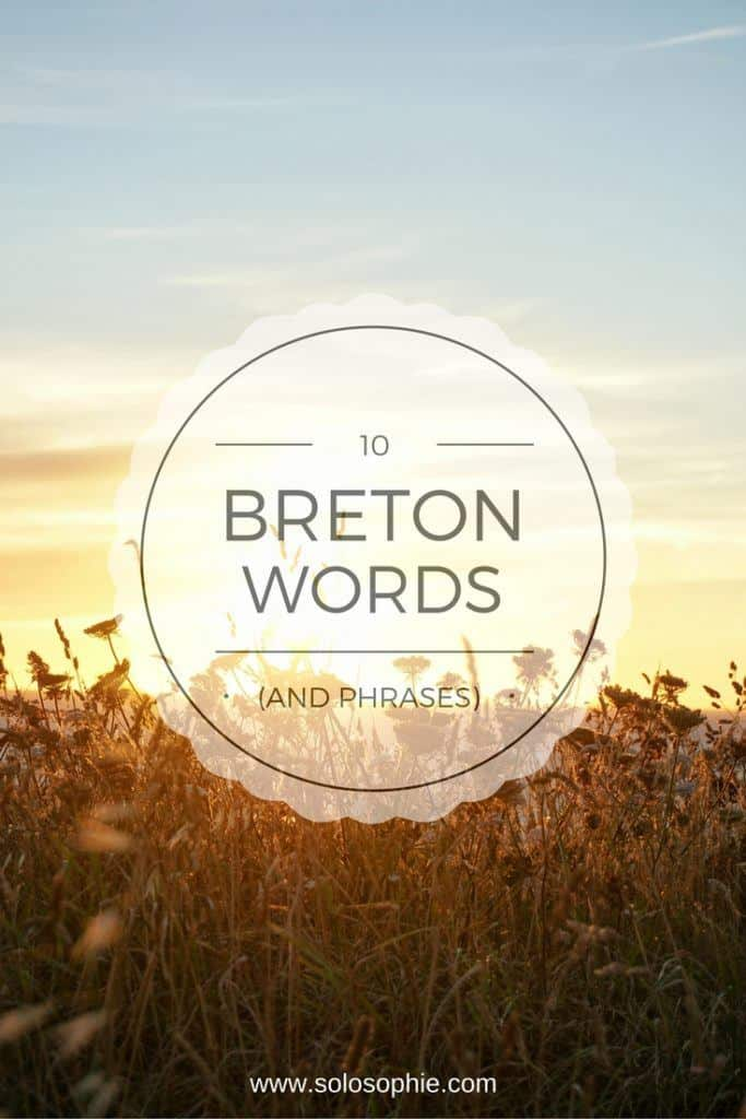 breton words and phrases
