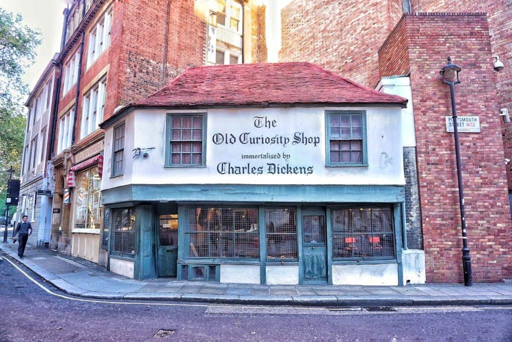 old curiosity shop in london