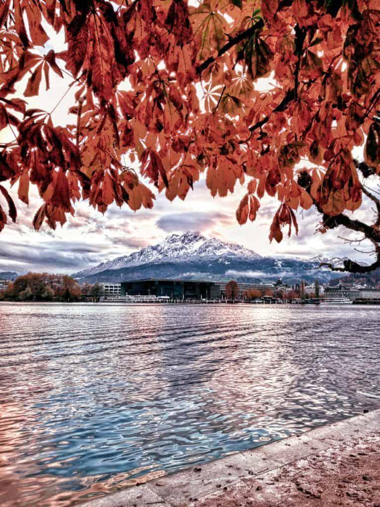 autumn in lucerne switzerland