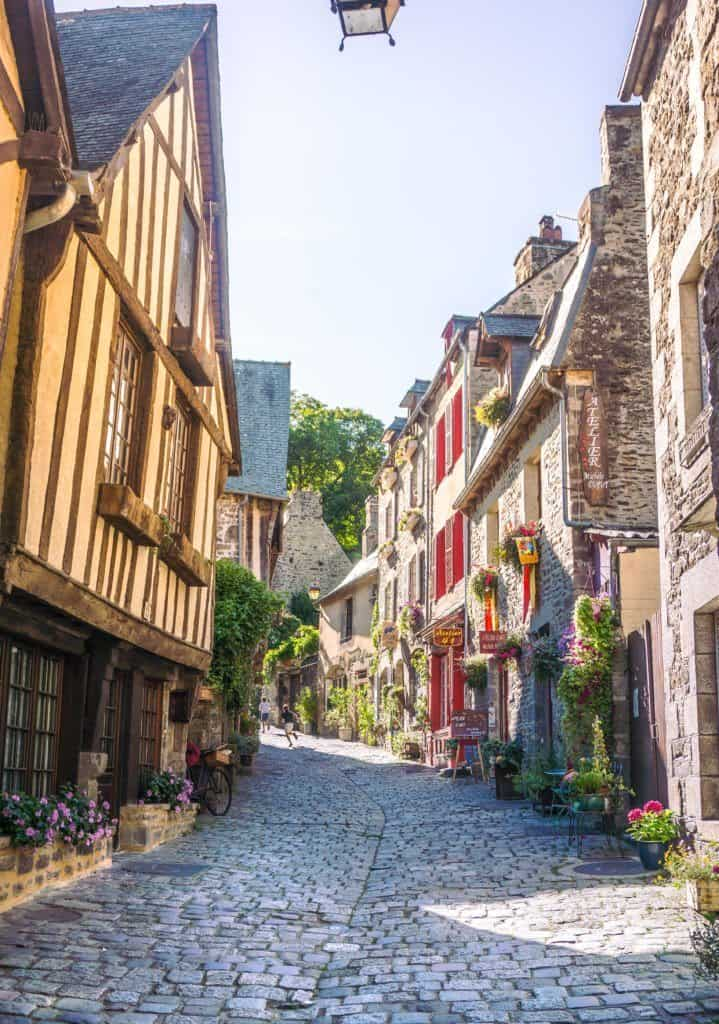 Dinan: Is this the most beautiful town in Brittany, France?