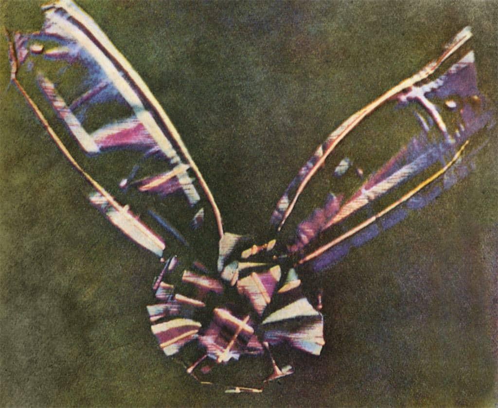 first colour photograph