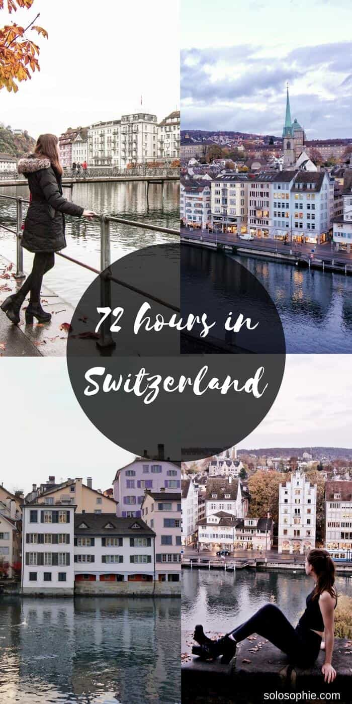 how to spend three days in switzerland