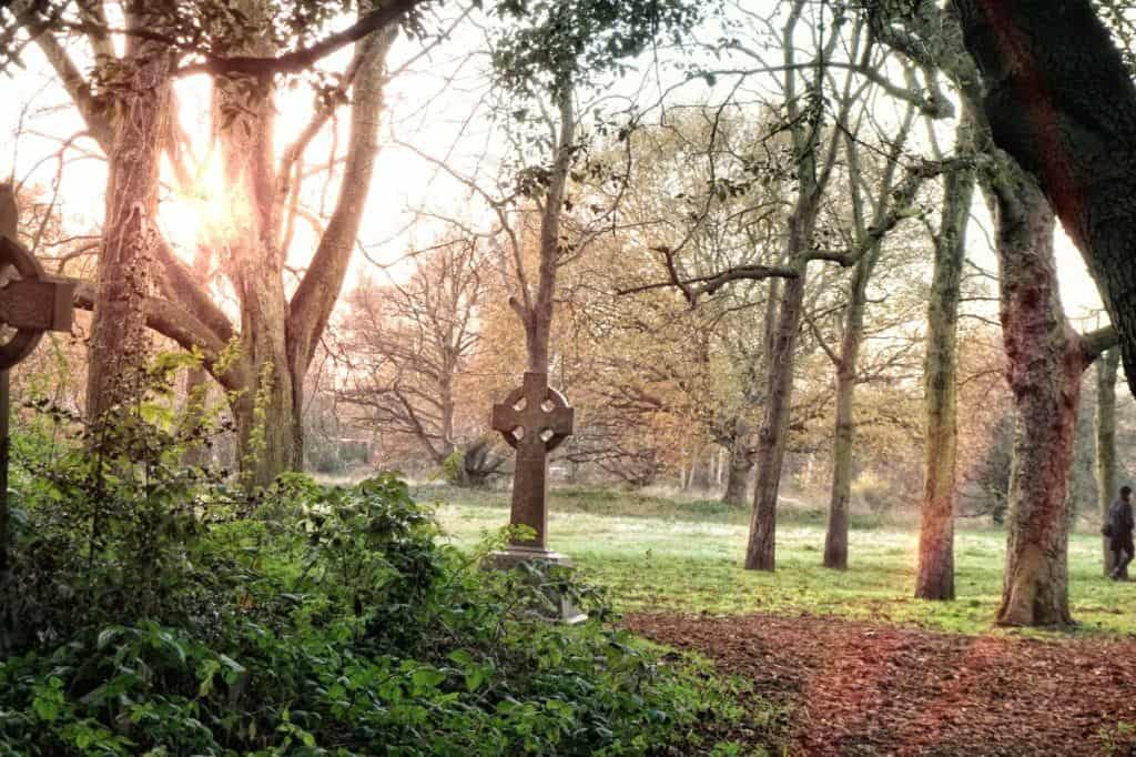 old barnes cemetery urbex london uk