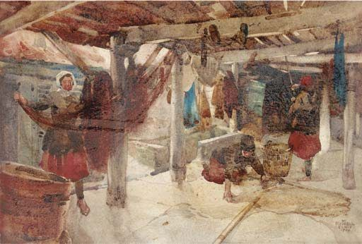 Who was Sir William Russell Flint