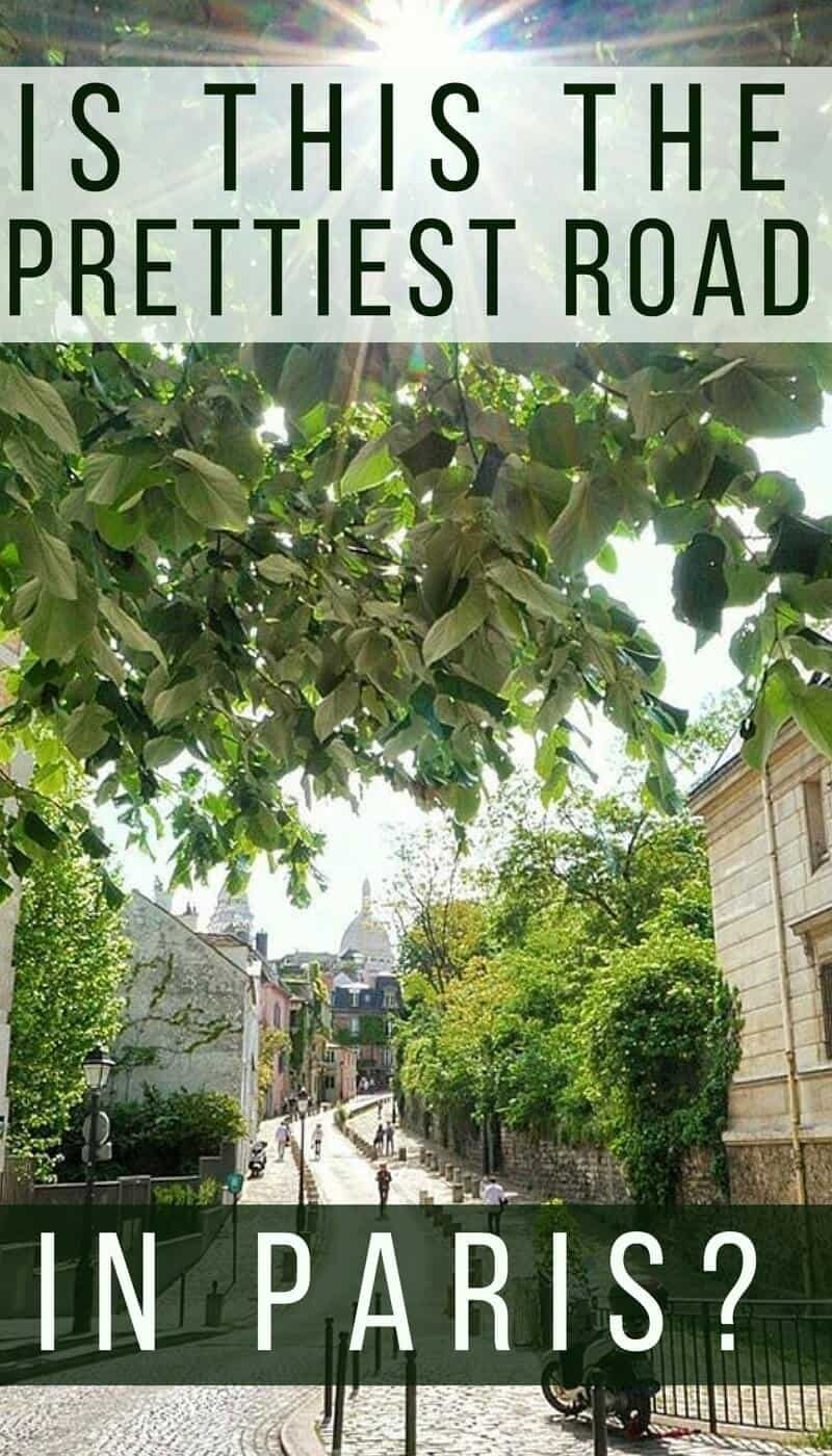 Is this the prettiest road in Paris- Place Dalida in Montmartre, Paris, France