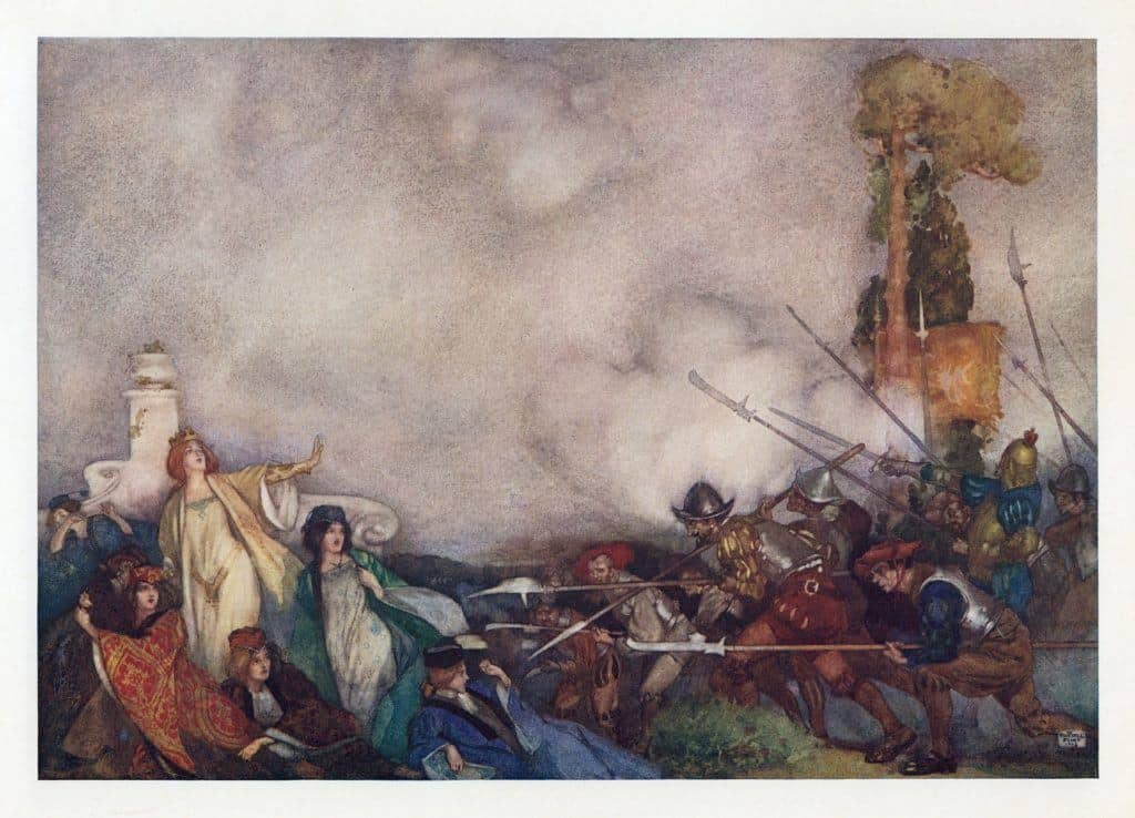 Who was Sir William Russell Flint?