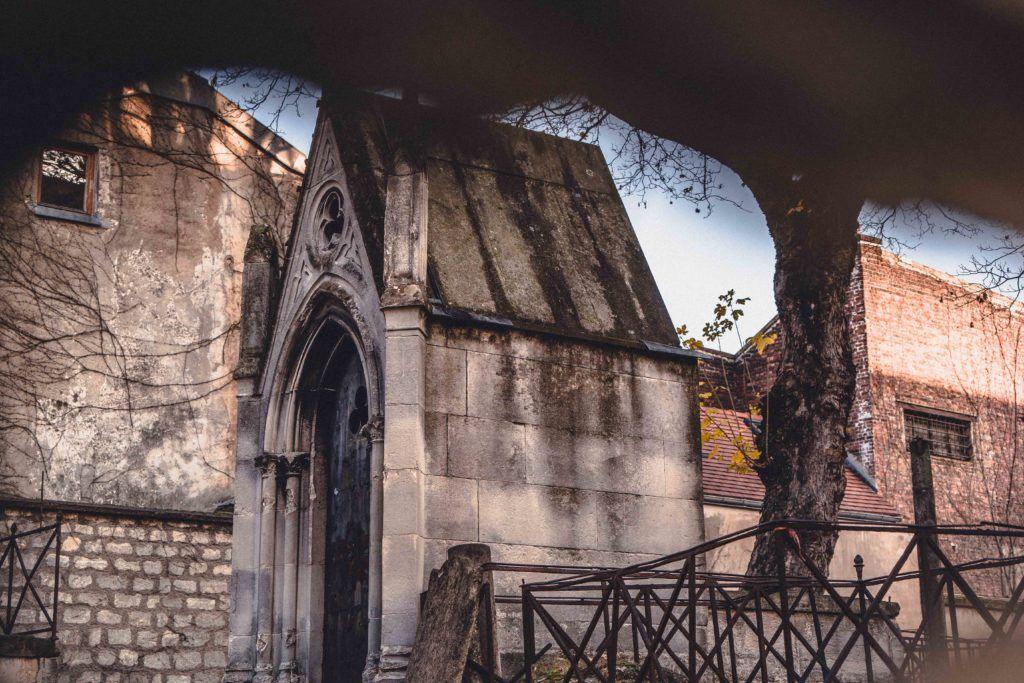 Visit the cemetery (Cimetière du Calvaire) that's only open once a year!