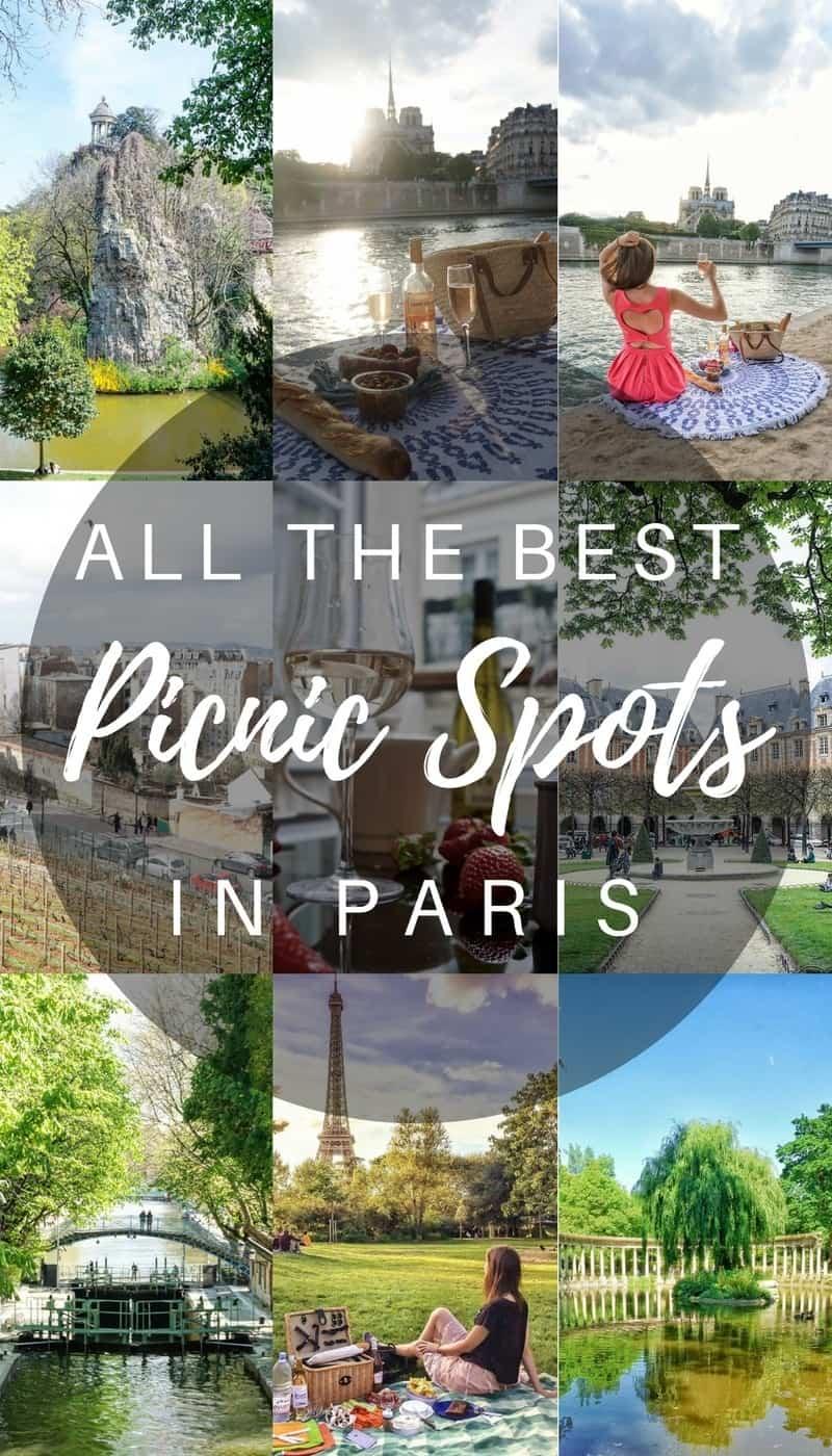 Best Picnic Spots in Paris, France
