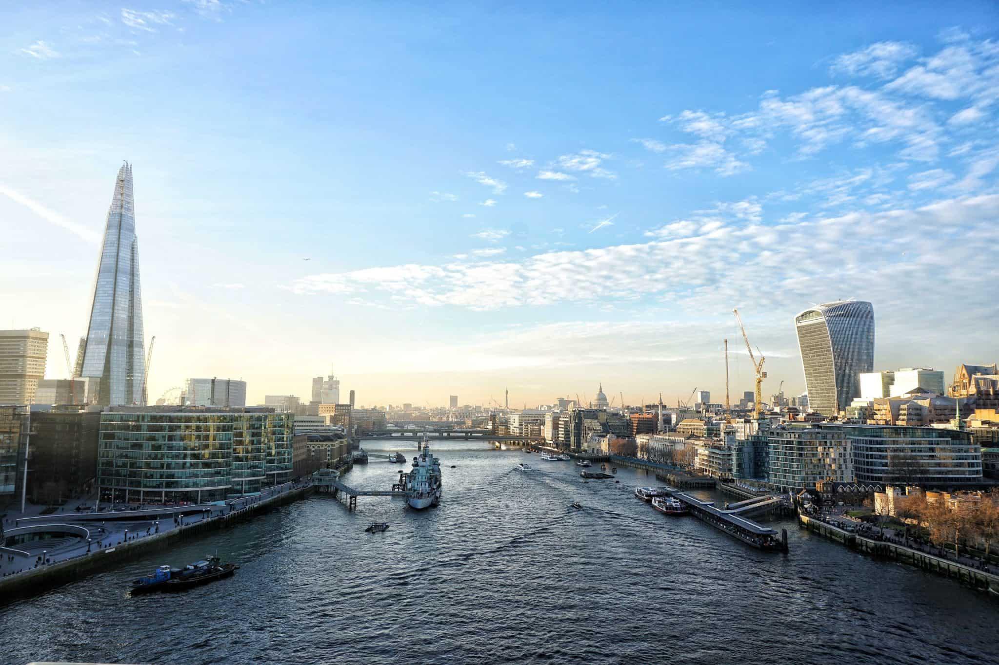 tower bridge best views over london