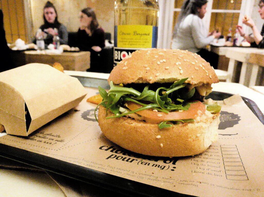 hank vegan burger le marais paris