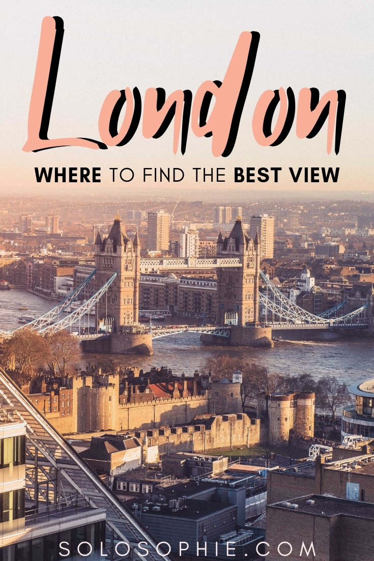 Looking to admire the UK capital from a bird's eye perspective? Seeking out some of the best photo spot viewpoints in England? Here's where to find the best view in London!