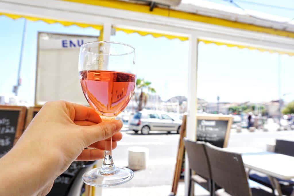 wine in la ciotat france