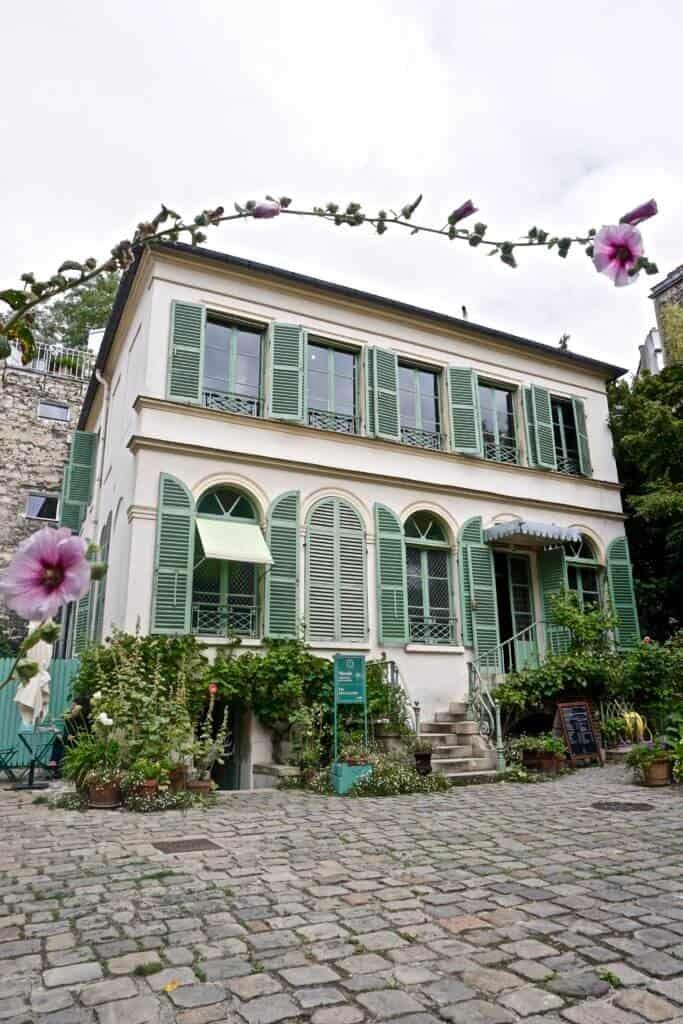 la musee de la vie romantique, Paris, France