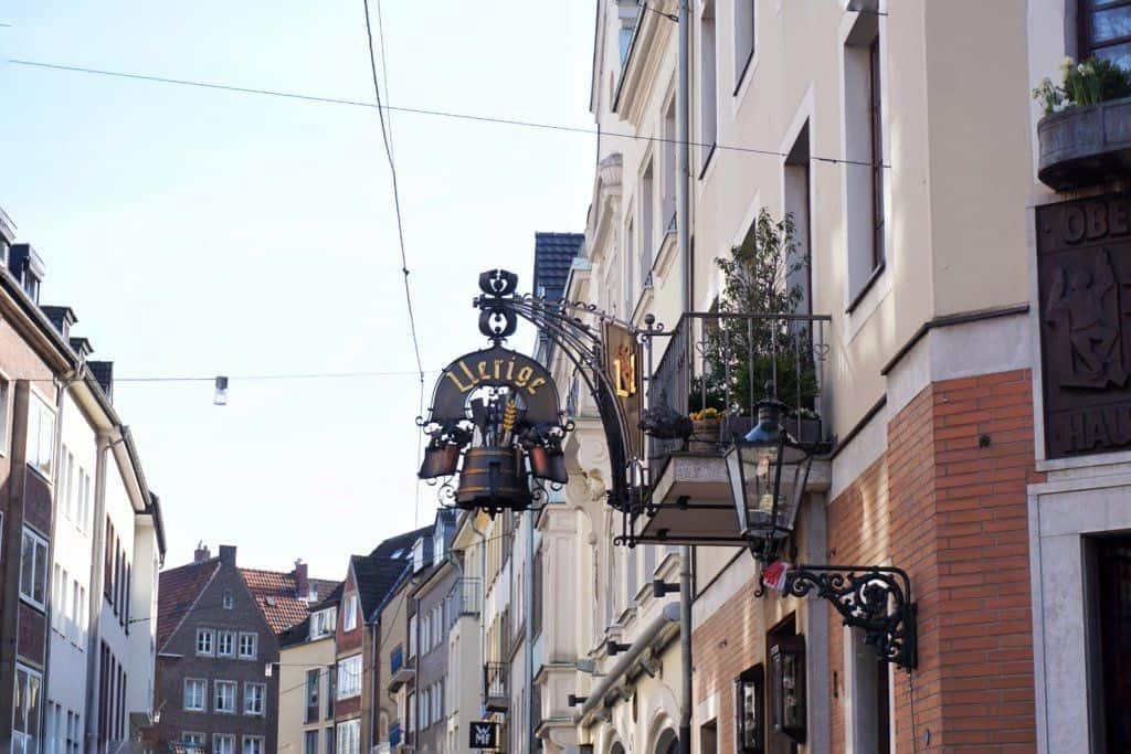 Altstadt (Old Town) dusseldorf germany