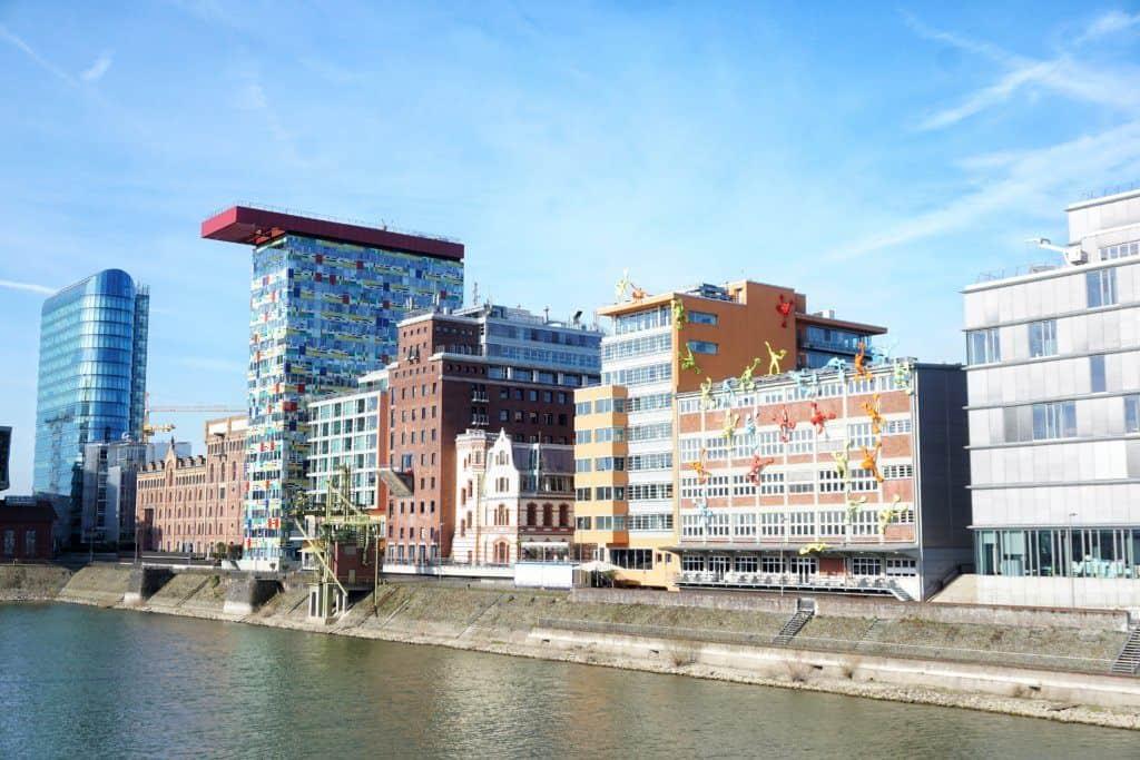 Media Harbour in Dusseldorf Germany