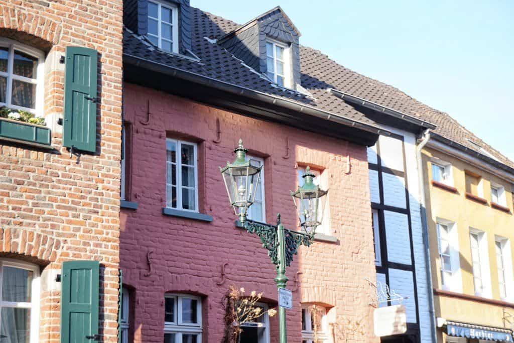kaiserswerth historic town dusseldorf germany