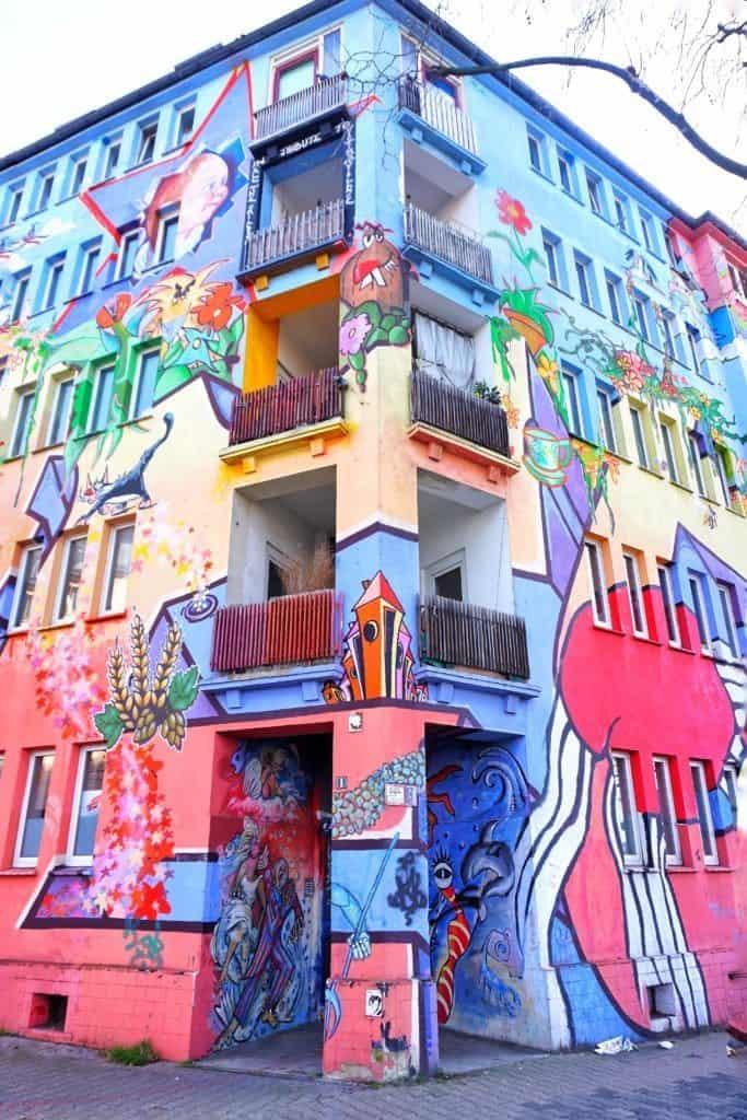 Kiefernstraße street art dusseldorf germany