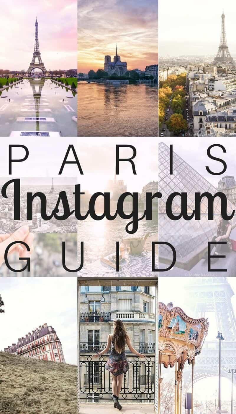 Instagram guide to Paris, France