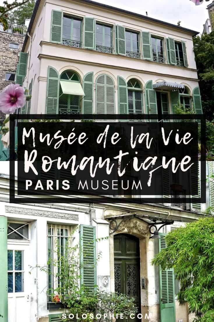 Paris Romantics Museums (Musée de la Vie Romantique) in Montmartre France. Here's what it's like to visit the prettiest museum in Paris, the capital of France