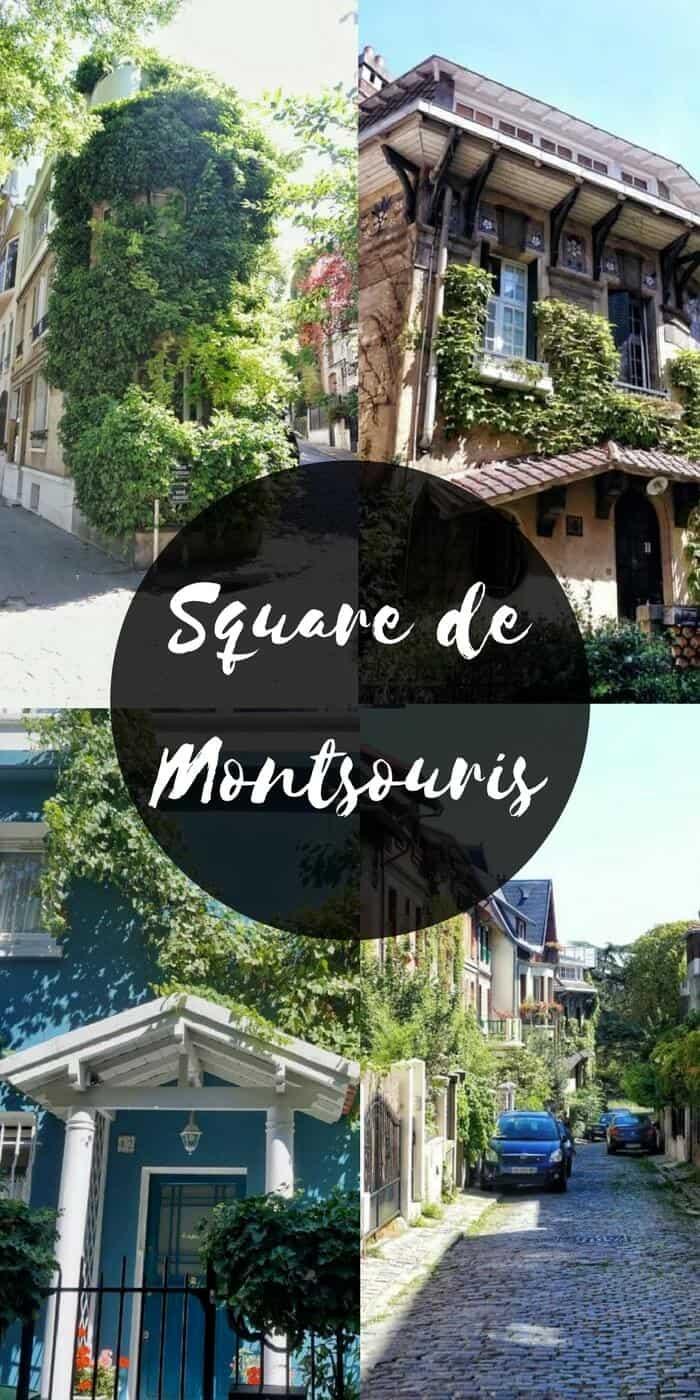 square de montsouris paris france