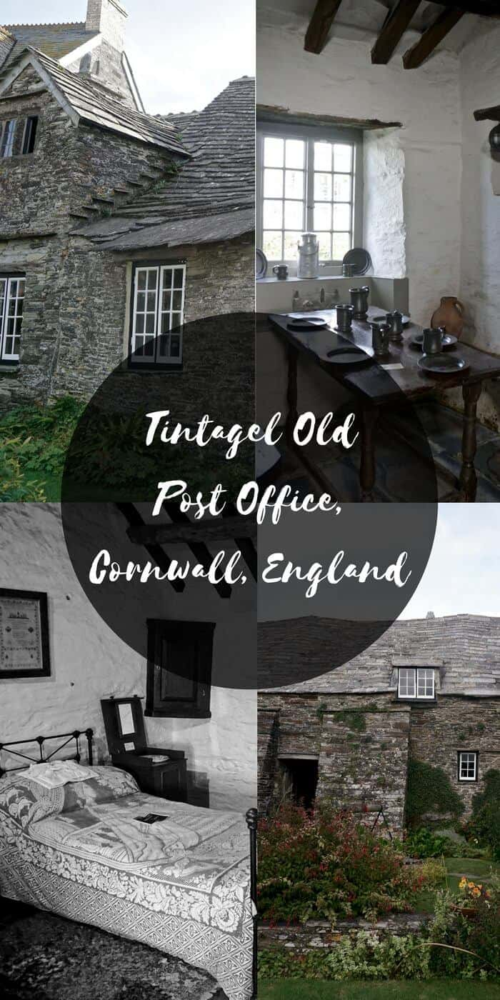 tintagel old post office cornwall england