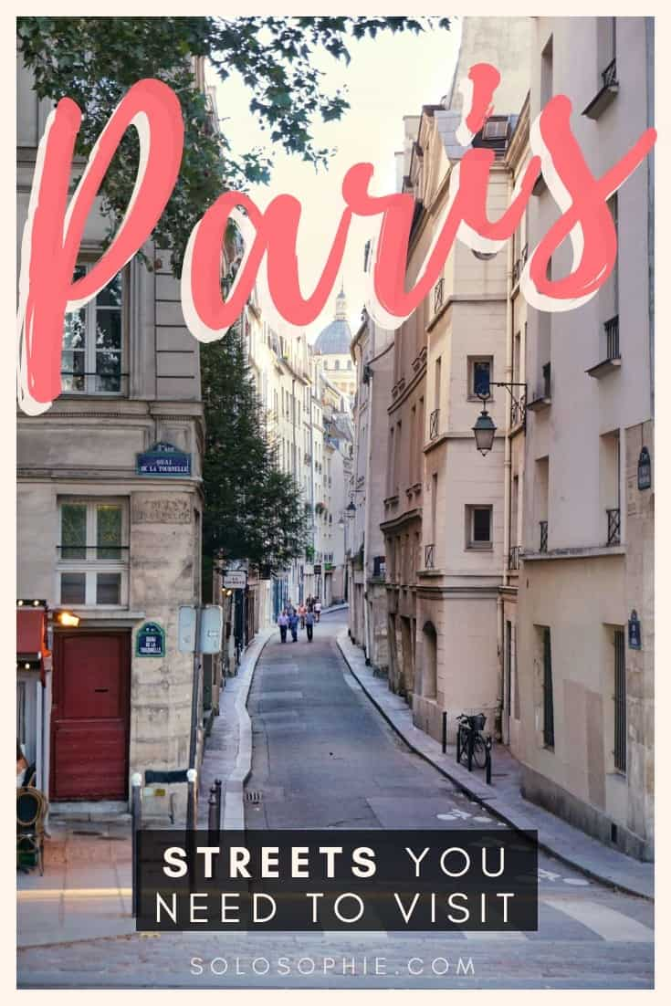 Beautiful Streets in Paris, lanes, and roads you need to walk down in Paris, France. Here's your complete guide to the best of Parisian streets, as well as where to find them!