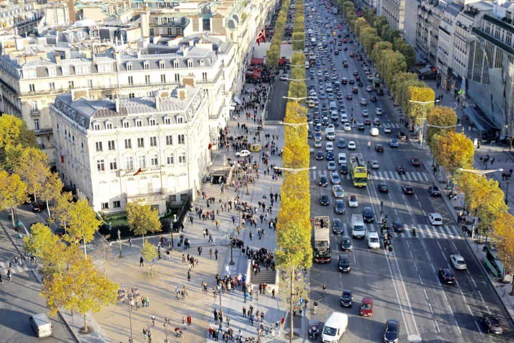 Champs Élysées, Paris, France: A Guide to finding the prettiest streets in the city of Love (including Rue Cremieux, Rue des Barres, Rue Nicolas Flamel) and more!