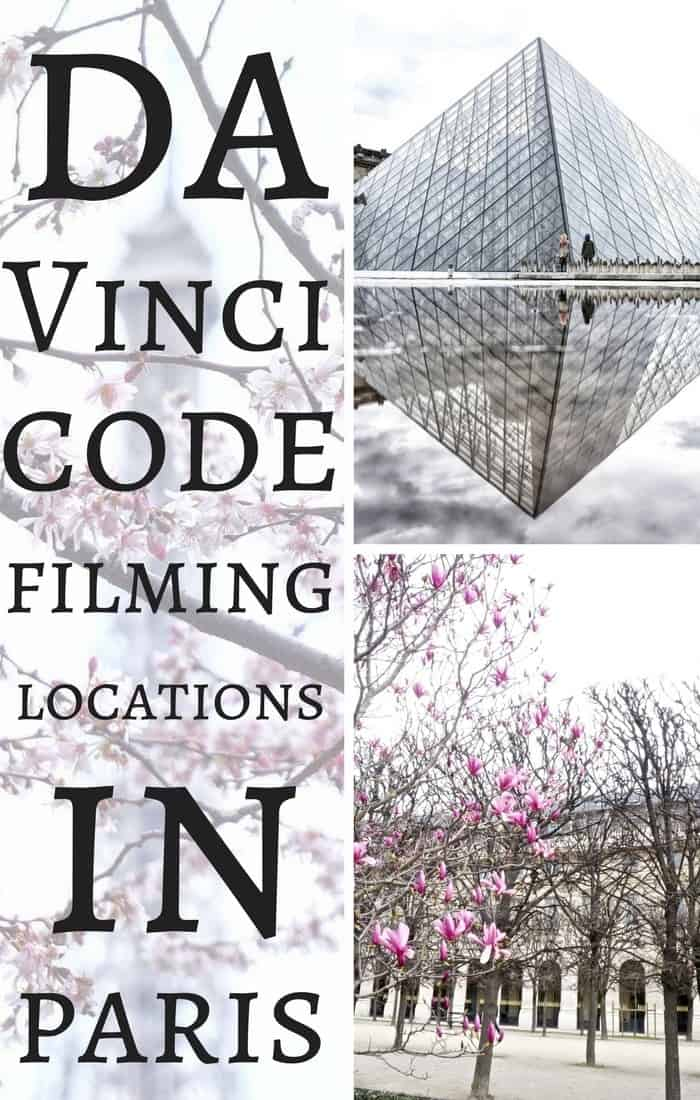 Da Vinci Code Filming Locations in the Book- Sites and Places from the book and film you must visit in Paris, France. Includes Palais Royal, the Louvre and Comedie Française