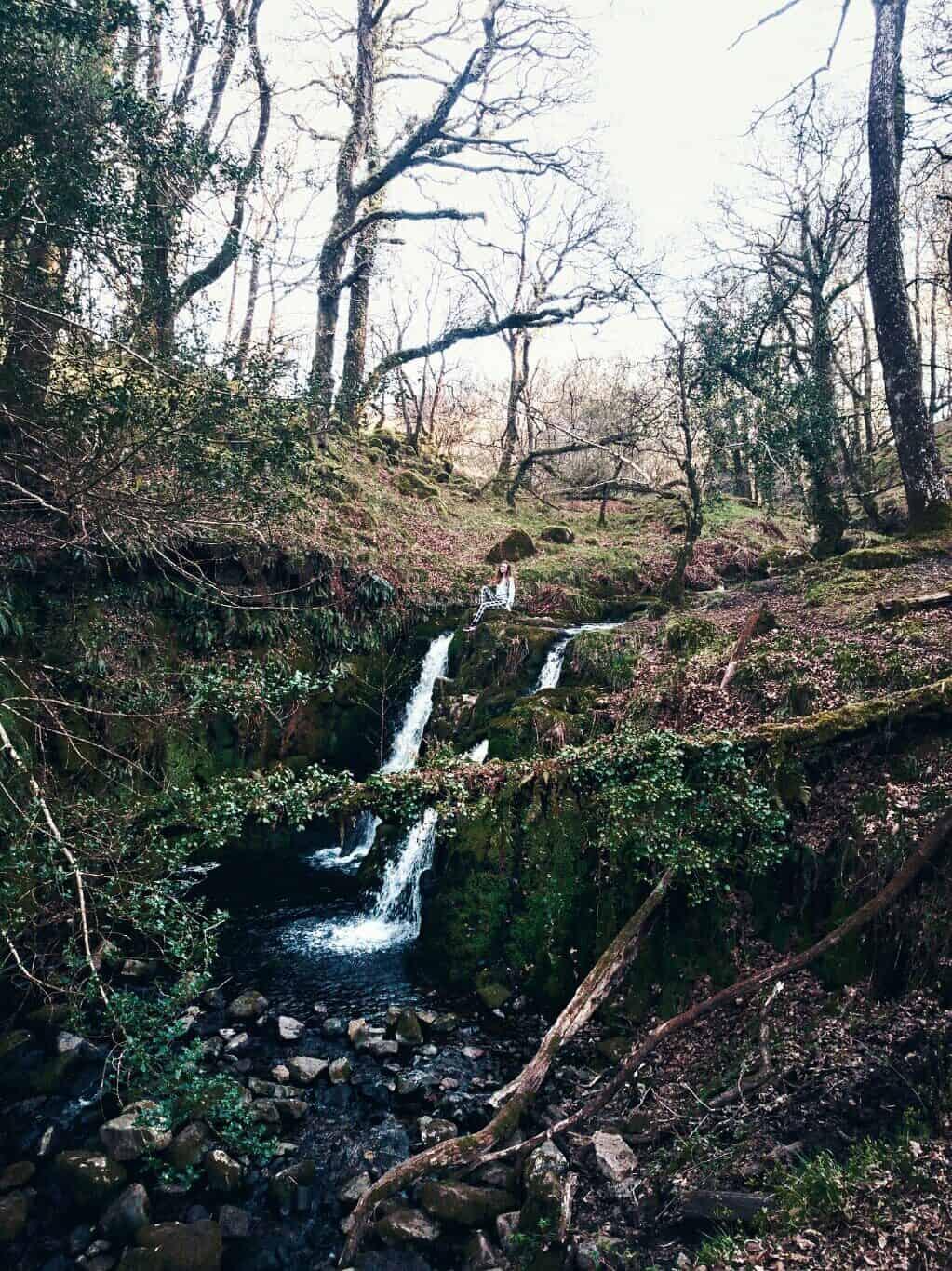 where to find venford falls dartmoor devon england
